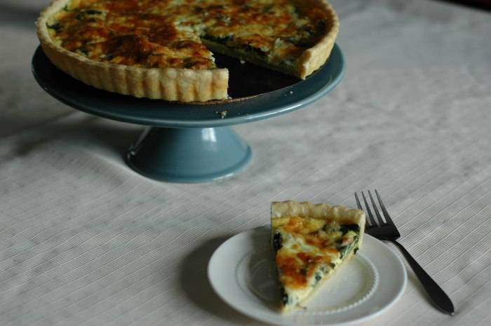 Spinach and Shallot Mother's Day Quiche3
