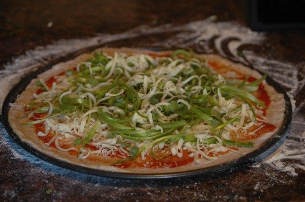 Asparagus Pizza-4