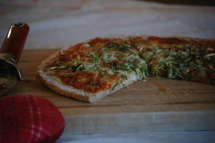 Asparagus Pizza - 5