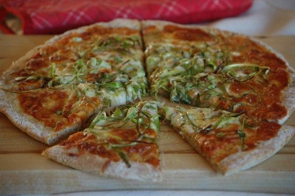 Asparagus Pizza -6