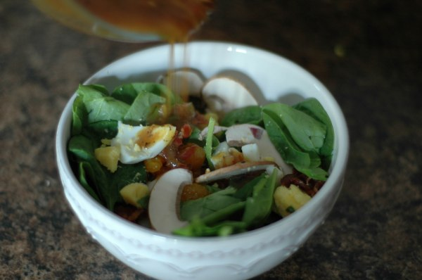 spinach salad (1 of 1)-4