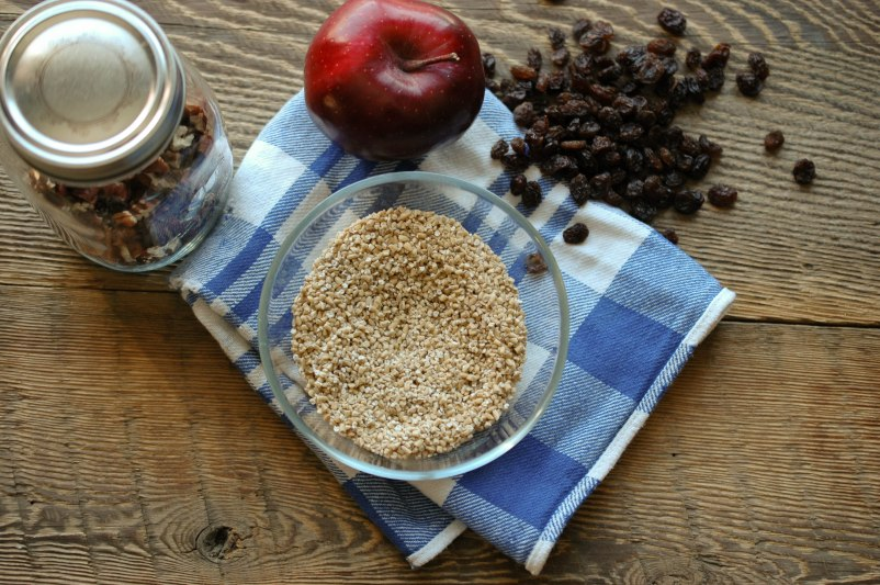 Overnight Apple Cinnamon Oatmeal-3