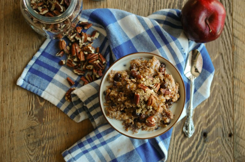 Overnight Apple Cinnamon Oatmeal-8