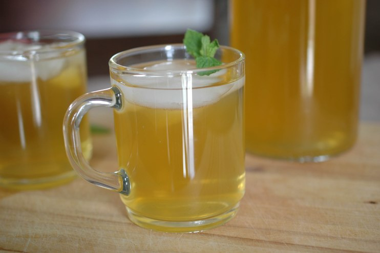 Apple Mint Green Iced Tea-2