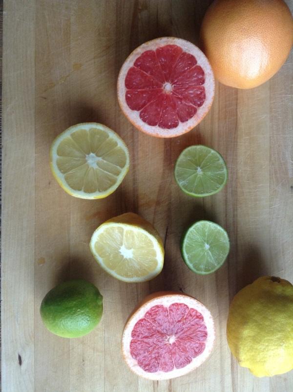 Watermelon Citrus-Ade with Frozen Kiwi Balls1