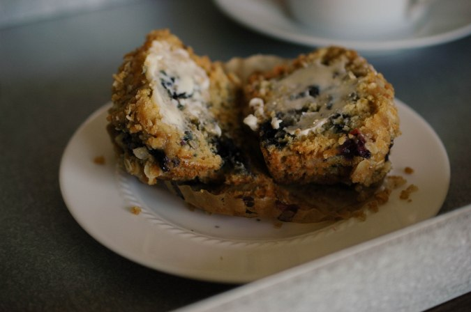 Blueberry Strusel Muffin-3