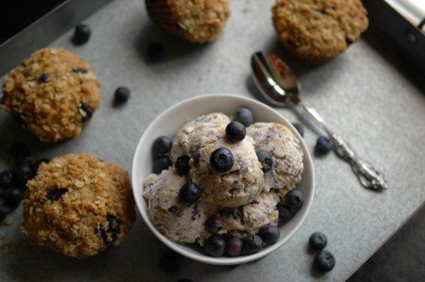 Blueberry Strusel Muffin Ice Cream-7