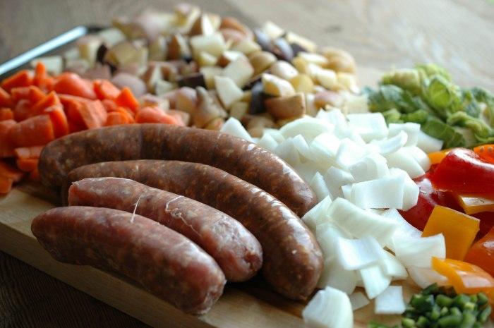 Sausage and Veggie Bake - Gluten Free-2