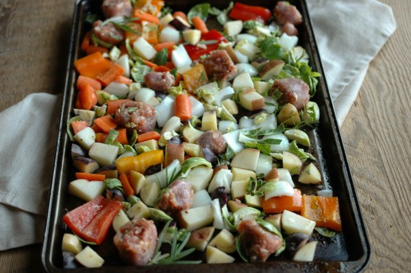 Sausage and Veggie Bake - Gluten Free-3