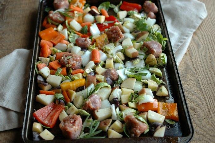 Sausage and Veggie Bake - Gluten Free-3