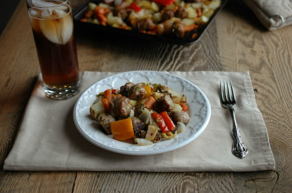 Sausage and Veggie Bake - Gluten Free-4