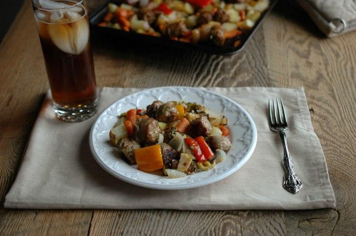 Sausage and Veggie Bake - Gluten Free-4