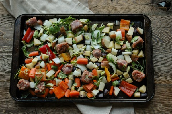 Sausage and Veggie Bake - Gluten Free-5