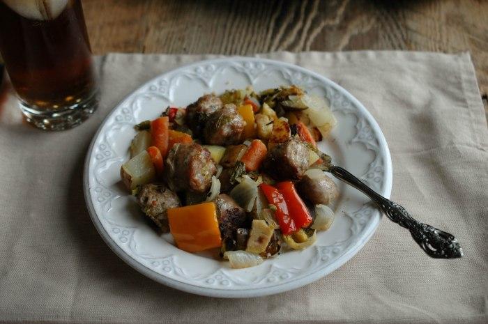 Sausage and Veggie Bake - Gluten Free-6