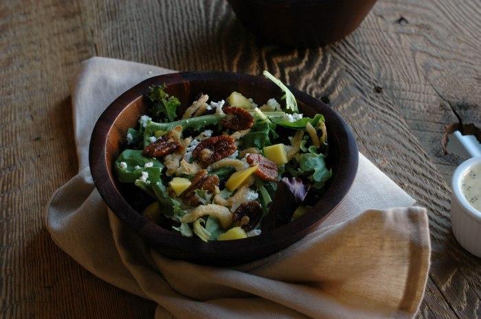 Mango Spinach Salad-4
