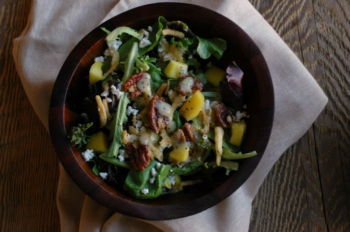 Mango Spinach Salad-5