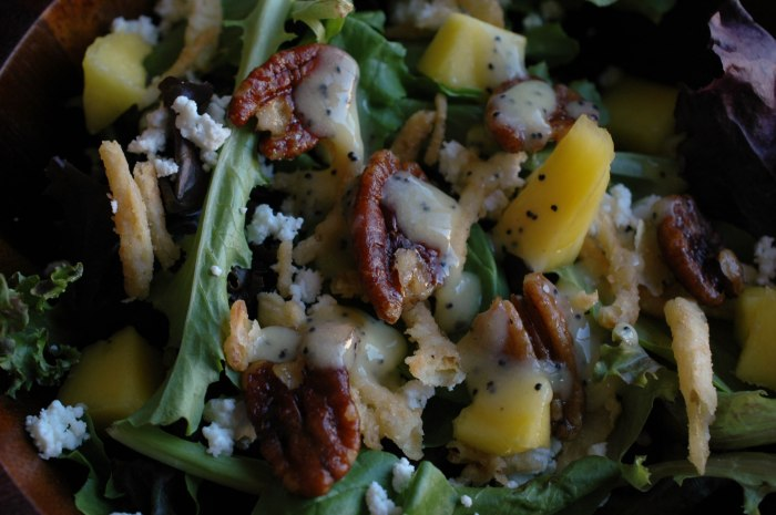 Mango Spinach Salad-6