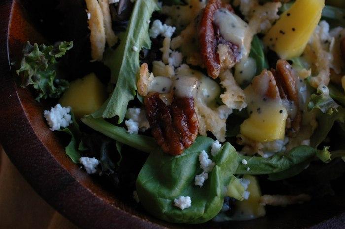 Mango Spinach Salad-7