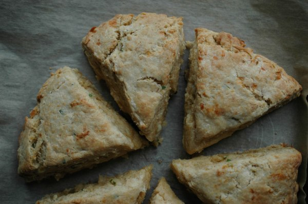 Chedder Chive Scones-10