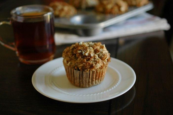 Cranapple Streusel Muffins-7
