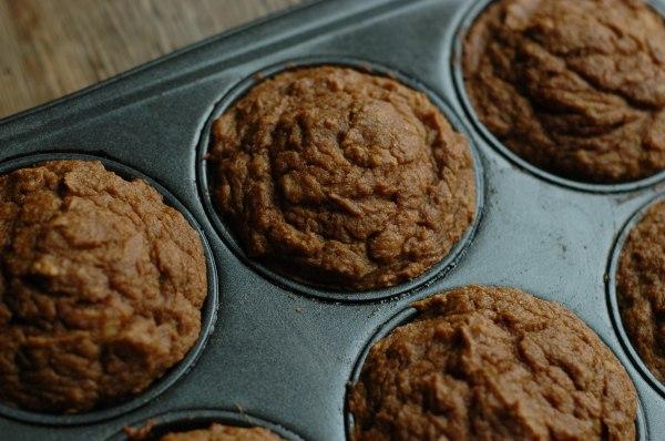 Pumpkin Banilla Muffins-6