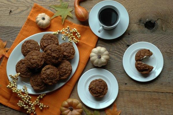 Pumpkin Banilla Muffins-9