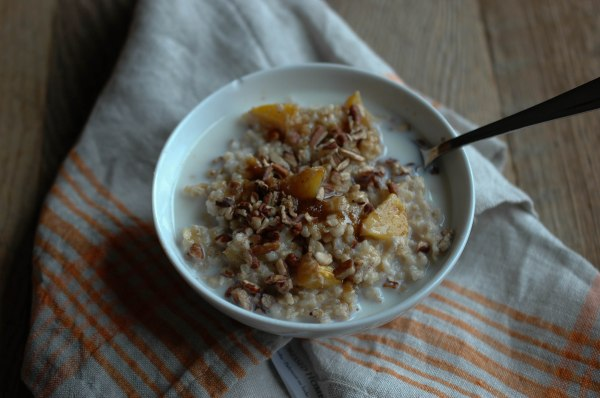 Baked Steel-Cut Oats - With Peaches-7