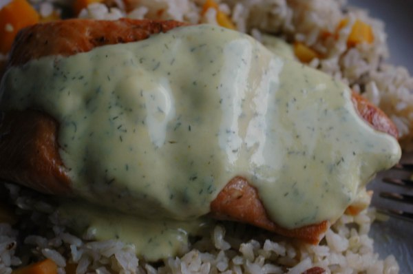 Salmon and Dill Sauce-7