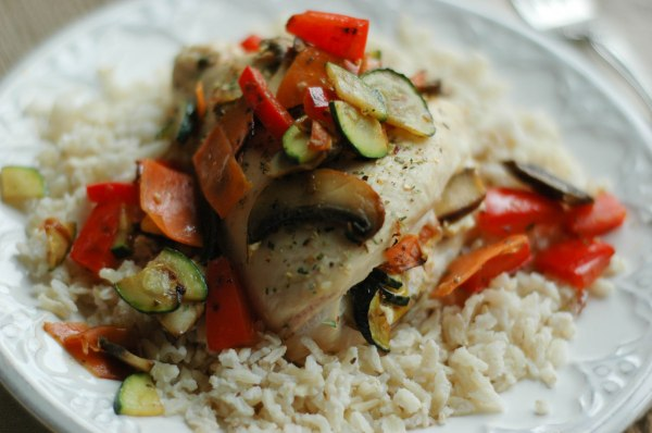 Goat Cheese and Veggie Chicken (2)
