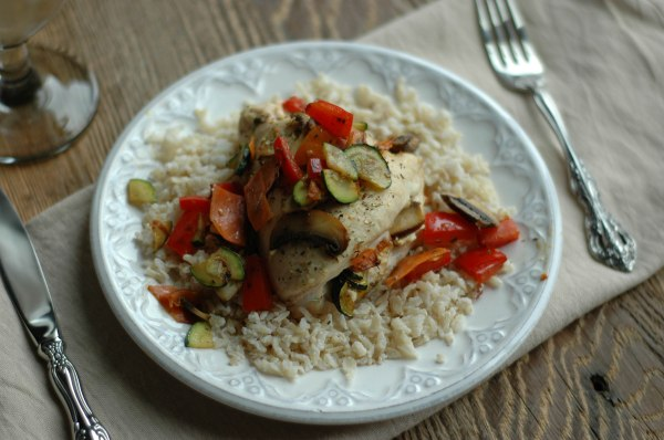 Goat Cheese and Veggie Chicken-4