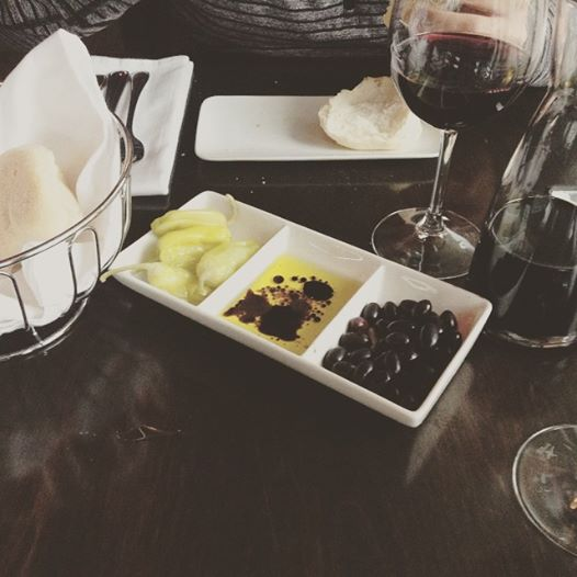 olives & wine