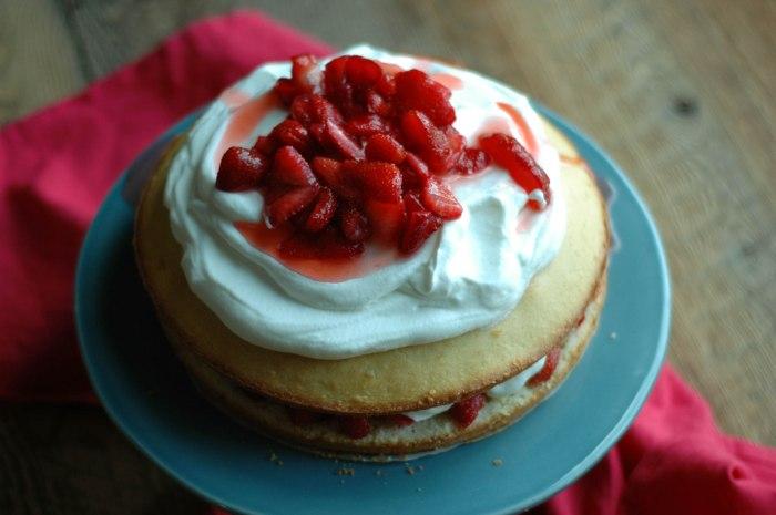 Strawberry Cream Cake-11