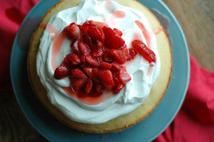 Strawberry Cream Cake-13
