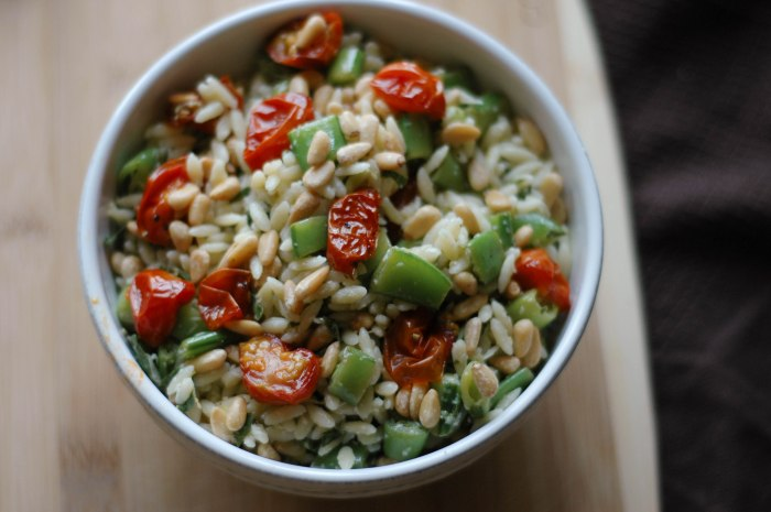 orzo summer salad-7